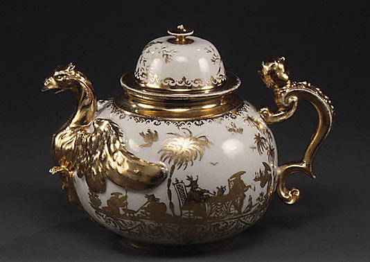 Teapot 1715,  Meissen